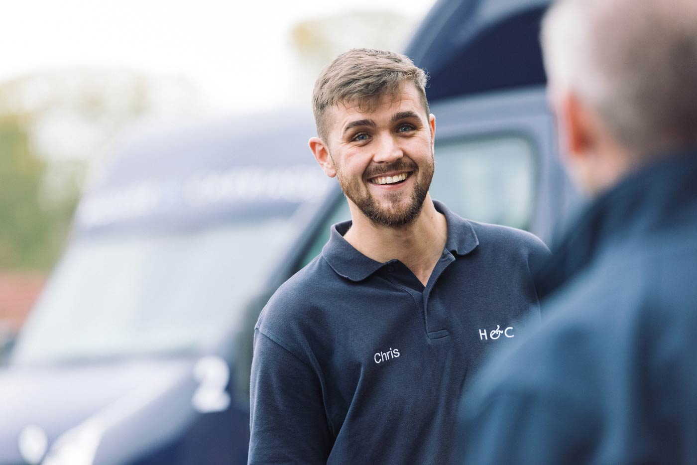 Chris, one of our specialist and friendly removals team