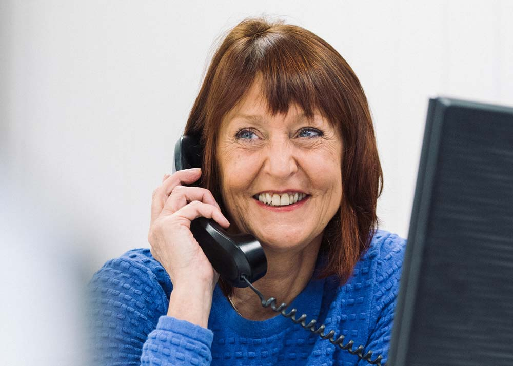 Cheryl - part of our friendly office team
