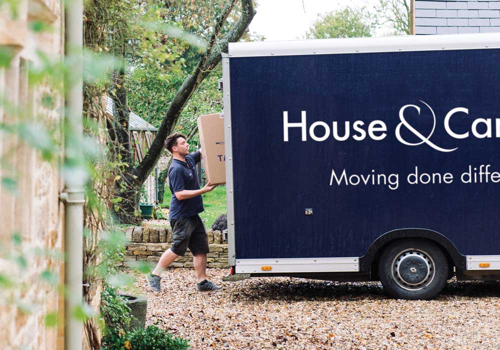 House removal in Cotswolds with House and Carriage